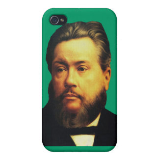 Charles H Spurgeon iPhone4 Case in Soli Deo Gloria Covers For iPhone 4