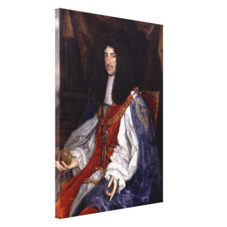 Charles II of Great Britain and Ireland Canvas Print