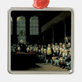 Charles James Fox  Addressing the House Metal Ornament