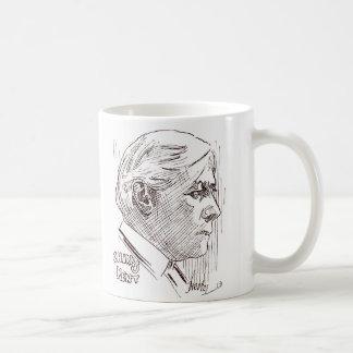 Charles Kent silent movie actor caricature Basic White Mug