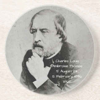 charles Louis Ambroise Thomas 1865 Coaster