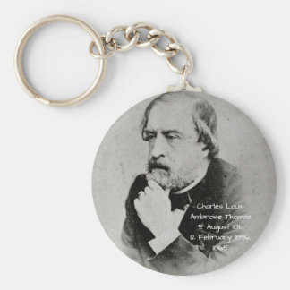 charles Louis Ambroise Thomas 1865 Key Ring