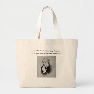 charles Louis Ambroise Thomas 1865 Large Tote Bag