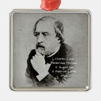 charles Louis Ambroise Thomas 1865 Metal Ornament