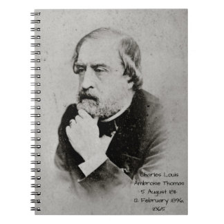 charles Louis Ambroise Thomas 1865 Notebook
