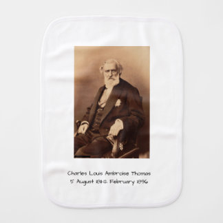 charles Louis Ambroise Thomas Burp Cloth