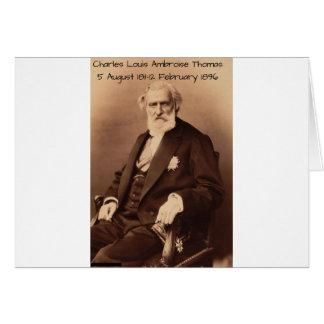 charles Louis Ambroise Thomas Card