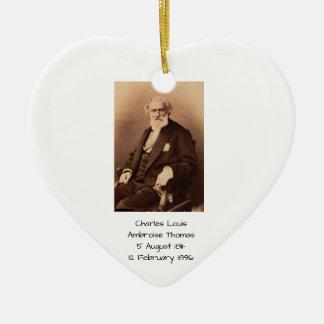 charles Louis Ambroise Thomas Ceramic Ornament