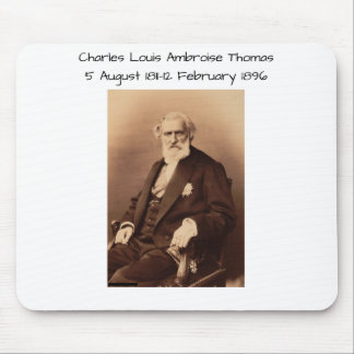 charles Louis Ambroise Thomas Mouse Pad