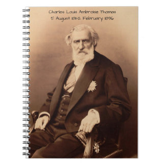 charles Louis Ambroise Thomas Notebook
