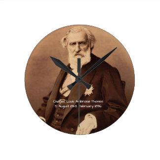 charles Louis Ambroise Thomas Round Clock