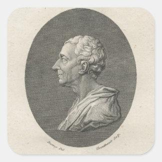 Charles Louis de Secondat, Baron de Montesquieu Square Stickers