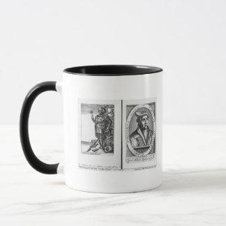 Charles Martel  and Martin Luther Mug