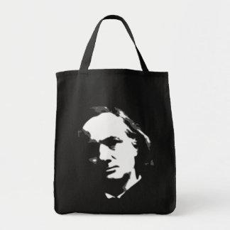 Charles Pierre Baudelaire Grocery Tote Bag