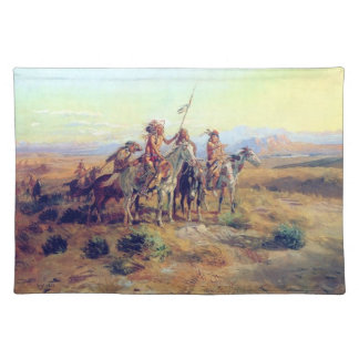 Charles Russell The Scouts Fine Art Place Mats