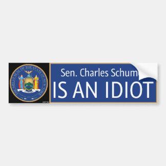 Charles Schumer Bumper Sticker