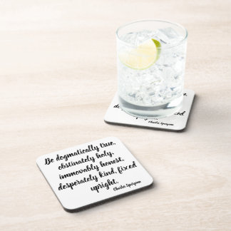 Charles Spurgeon Advice Bible Stand Coaster