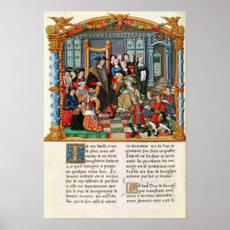 Charles the Bold, Duke of Burgundy Poster