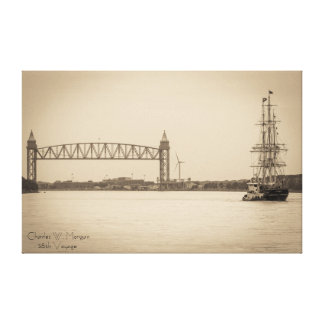 Charles W. Morgan 38th Voyage Stretched Canvas Prints