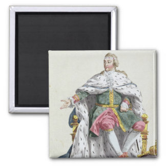 Charles XII (1682-1718) King of Sweden from 'Receu Magnet