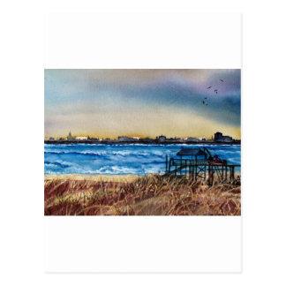 Charleston Coastline Postcard