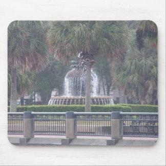 Charleston Fountain Mouse Pad