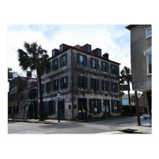Charleston French Quarter Art Gallery Postcard