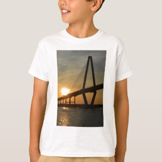 Charleston Ravenel Bridge Sunset T-Shirt