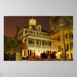 Charleston SC battery house Poster