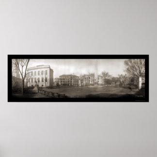 Charleston SC Square Photo 1909 Poster