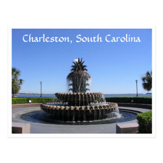 Charleston SC Waterfront Park Fountain Post Card