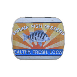 Charleston Seafood Jelly Belly Candy Tins