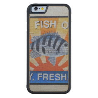 Charleston Seafood Maple iPhone 6 Bumper