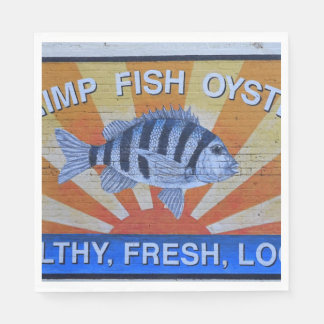 Charleston Seafood Paper Napkin