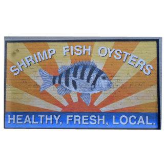 Charleston Seafood Table Card Holder