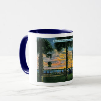 Charleston, South Carolina, Battery Park, Vintage Mug