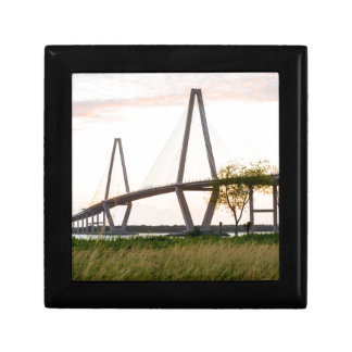 Charleston South Carolina Bridge - Cooper River Gift Box