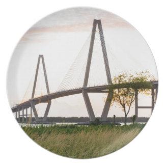 Charleston South Carolina Bridge - Cooper River Plate