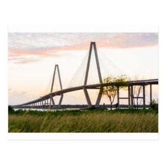 Charleston South Carolina Bridge - Cooper River Postcard