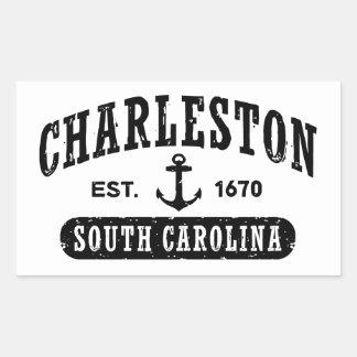 Charleston South Carolina Rectangular Sticker