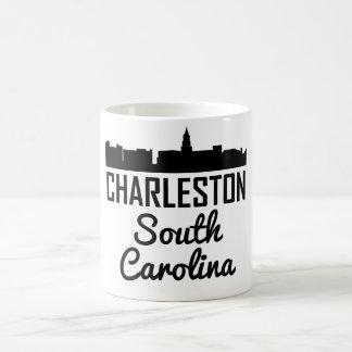 Charleston South Carolina Skyline Coffee Mug