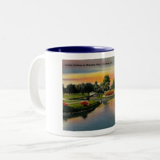 Charleston, South Carolina, Vintage Two-Tone Coffee Mug
