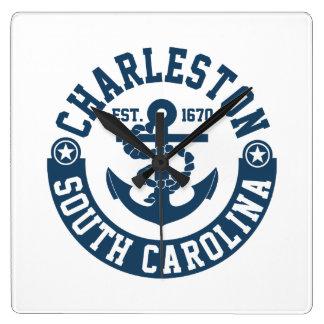 Charleston South Carolina Wallclock