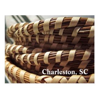 Charleston Sweetgrass Baskets Postcard