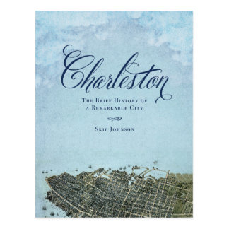 Charleston The Book - Cover Art Postcard