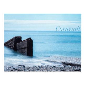 Charlestown Beach, Cornwall Postcard