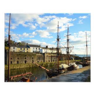 Charlestown Cornwall England Photo