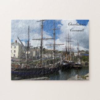 Charlestown Cornwall England Poldark Location Jigsaw Puzzle