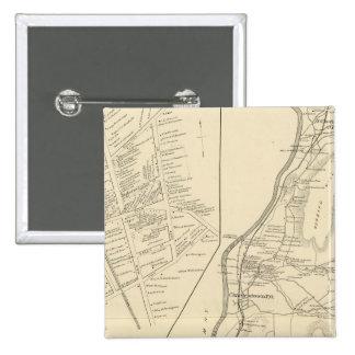 Charlestown, Langdon, Sullivan Co 15 Cm Square Badge