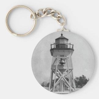 Charlevoix South Pier Light Station Key Ring